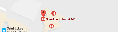 Location of Robert A. Sciortino, MD